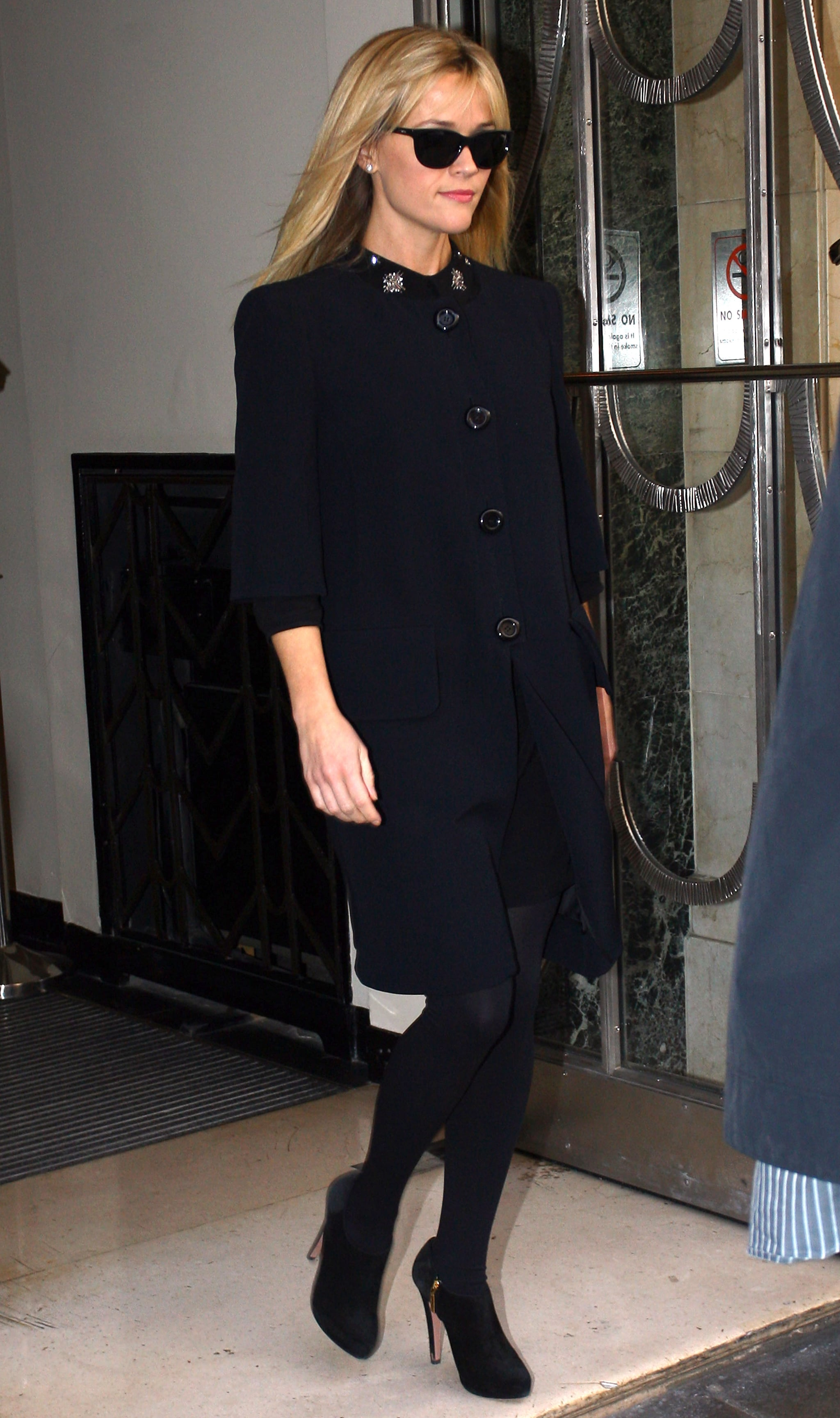 Reese Witherspoon at Claridge's.