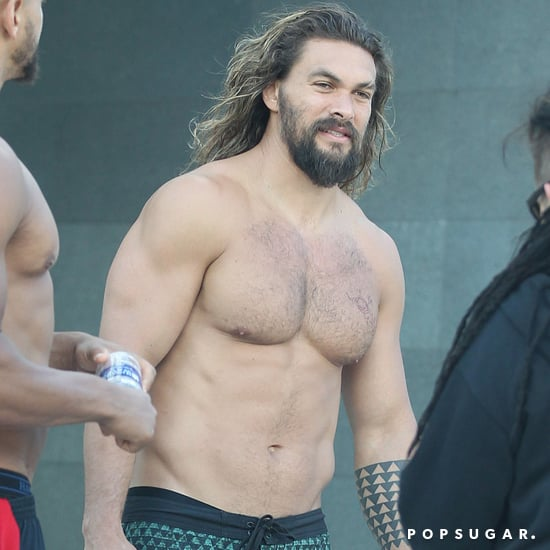 Jason Momoa Shirtless in Australia Photo April 2017