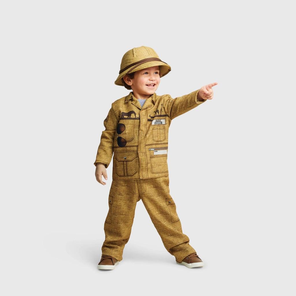 Toddler Safari Guide Halloween Costume