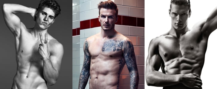 The 7 Most Ab-surdly Sexy Male Model Moments of 2013