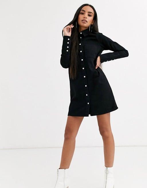 ASOS Design Petite Denim Shirt Dress