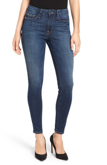 Good American's Good Legs High Rise Skinny Jeans
