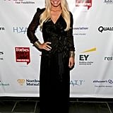 Jessica Simpson attended the Forbes Women's Summit in NYC on Thursday.