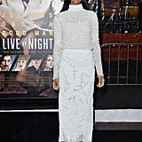January at the Live by Night Premiere in Los Angeles