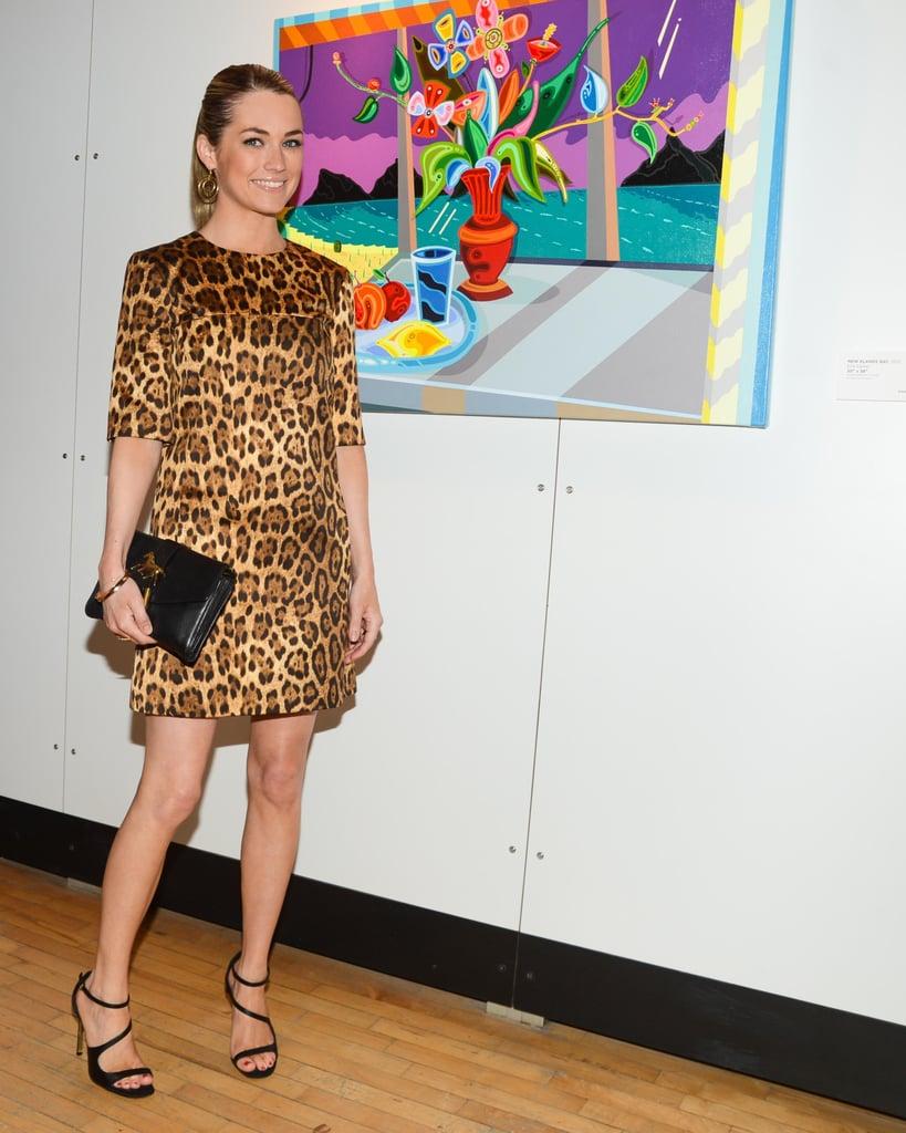 Amanda Hearst at New York Academy of Art's Tribeca Ball in New York. Photo: Billy Farrell/BFAnyc.com