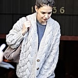 Katie Holmes Goes Vegan For Lunch With Isabella