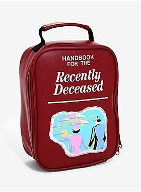 Handbook For the Recently Deceased Lunch Bag