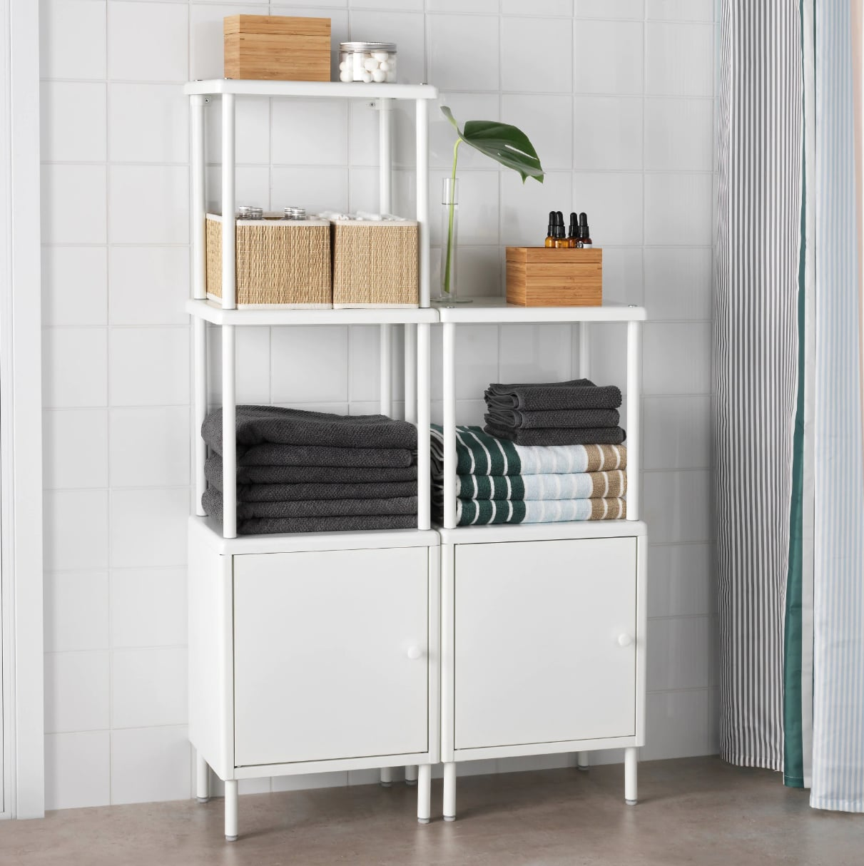 new product 6736f 1a8ca Dynan Shelving Unit With Cabinets | Small Bathrooms, Meet ...