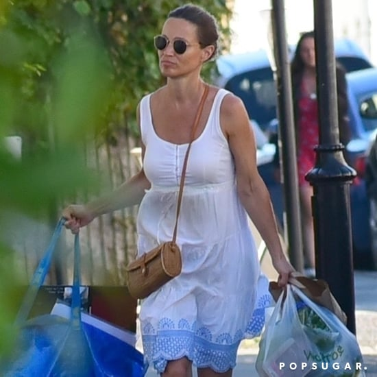 Pippa Middleton White Summer Dress July 2018
