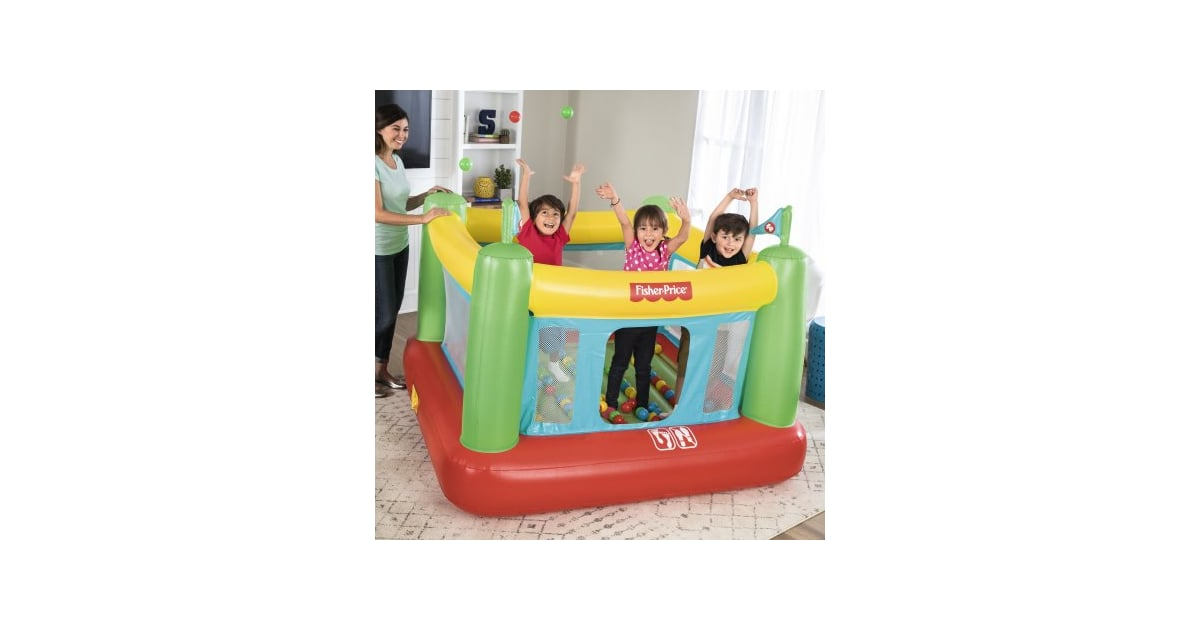 A Bounce House That Fits Inside Your Real House Fisher Price