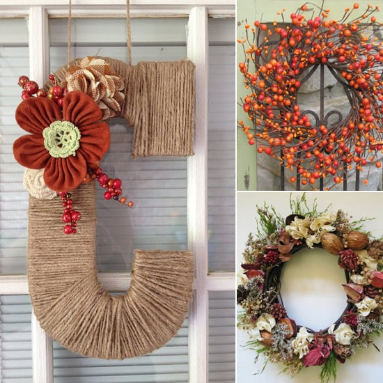 $15 and Under Stunning Fall Wreaths From Etsy