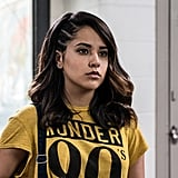 Becky G as the Yellow Power Ranger