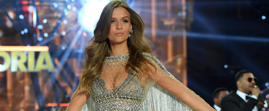 Here's How 20 Pounds of Swarovski Crystals Look on the Victoria's Secret Runway