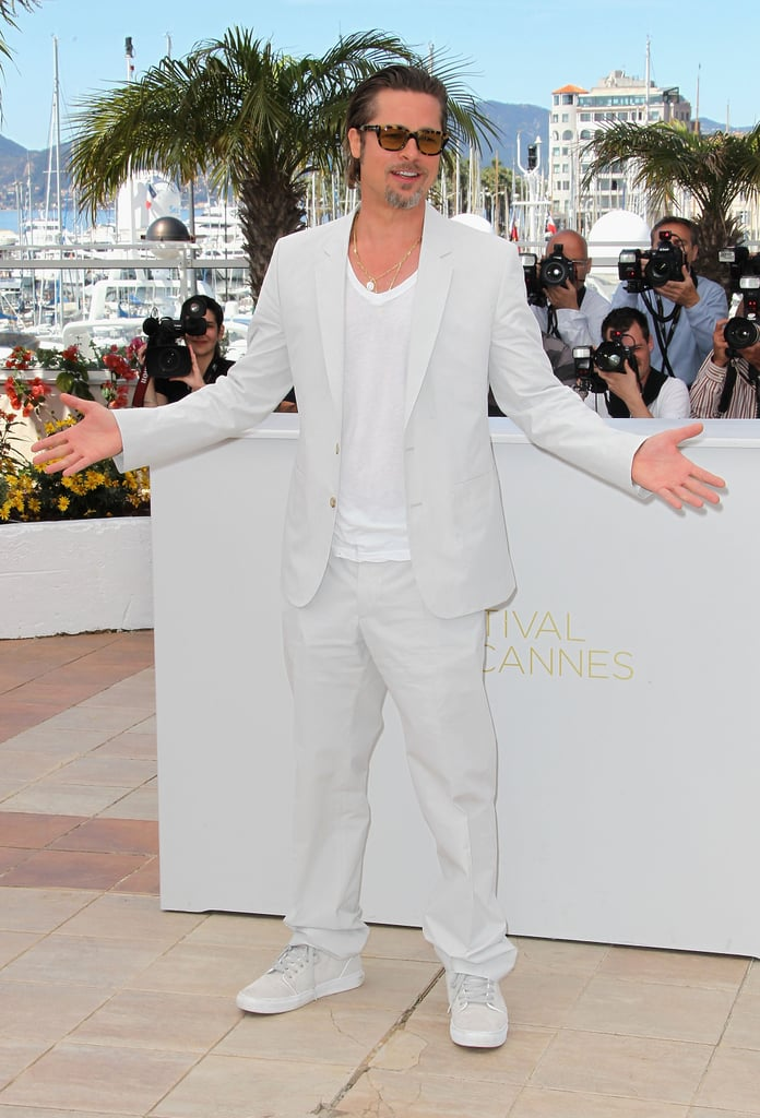 Brad Pitt Pictures at a Tree of Life Photo Call