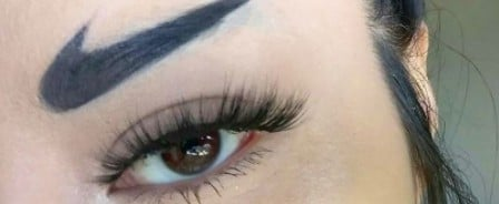"""Huda Kattan Approves of """"Nike Brows,"""" So Just Do It"""