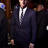 In 2014, Nolan Gerard Funk was Harvey Dent at Heidi Klum's Halloween party in NYC.