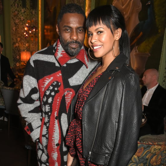 Idris Elba and Fiancee Sabrina Dhowre at Fashion Week 2018