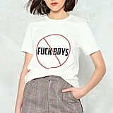 Nasty Gal No Fuck Boys Tee