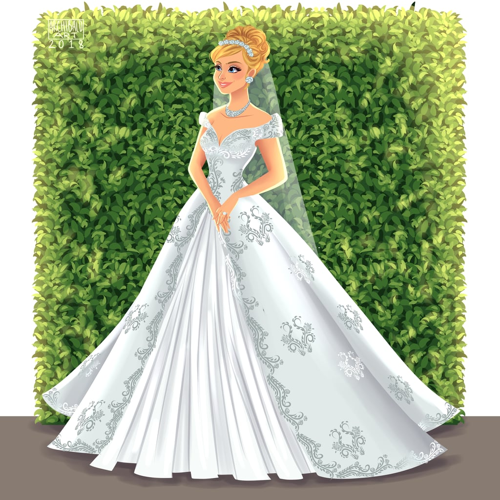 Cinderella Wedding: Cinderella's Wedding Gown Belongs On A Pinterest Board