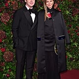 Christopher Kane and Tammy Kane at the 65th Evening Standard Theatre Awards