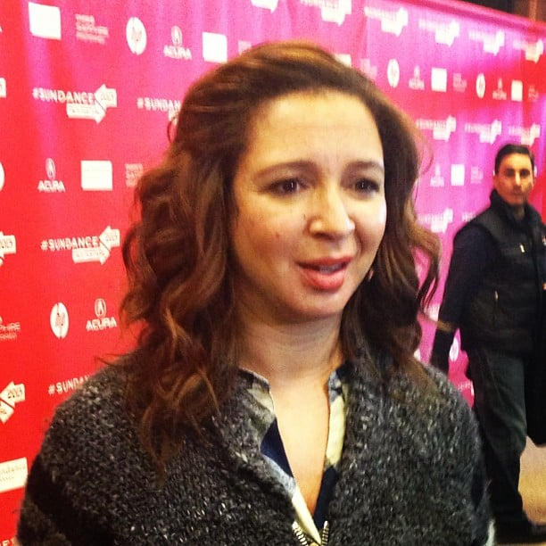 Molly chatted with Maya Rudolph at the premiere of The Way