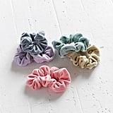 Scunci Velvet Hair Scrunchie Set