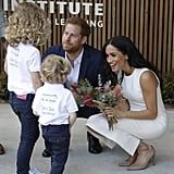 When Harry and Meghan Met This Adorable Duo