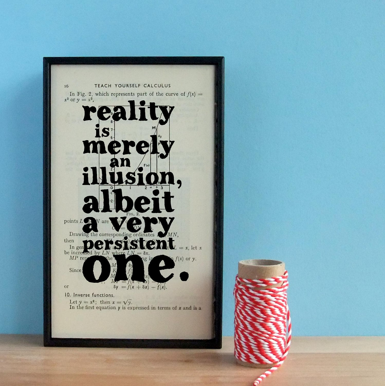 Reality is merely an illusion, albeit a very persistent one ($40)