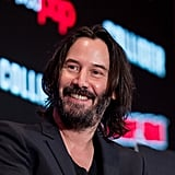 Pictures of Keanu Reeves Smiling