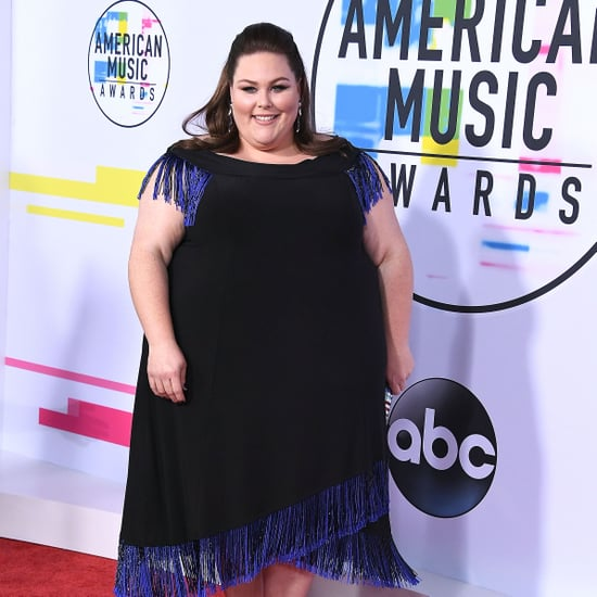 Chrissy Metz Wearing Stuart Weitzman Shoes