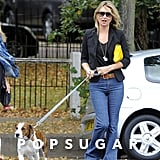 "Kate Moss and her husband, Jamie Hince, welcomed their Staffordshire Bull Terrier, Archie, shortly after they were married in 2011. In an interview with Grazia magazine, Kate addressed how Archie has changed her style, saying, ""So, I've got a dog, and the dog's making me (dress) more Day. It's a nightmare. You can't do a dog in a heel."""