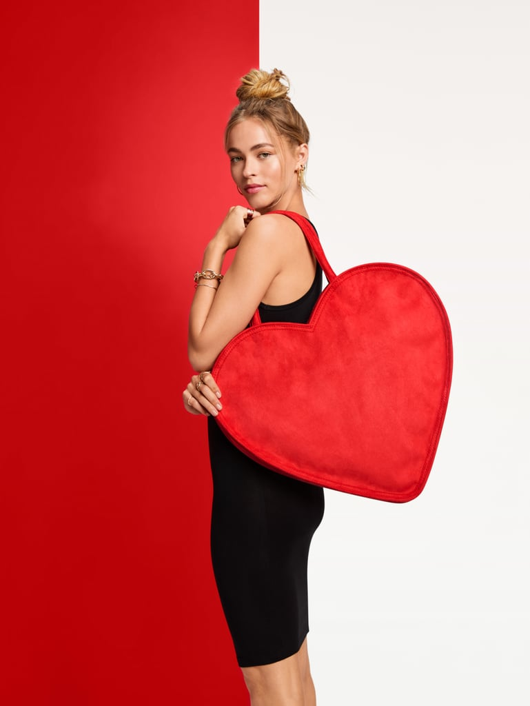 Erin Fetherston for Target Heart Shaped Tote Handbag in Red
