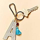 Anthropologie Juniper Monogram Keychain