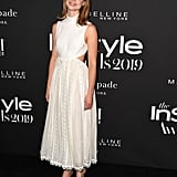 Lucy Fry at the InStyle Awards 2019