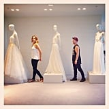 Ricki-Lee Coulter went wedding dress shopping with her friend Marko Panzic. Source: Instagram user therickilee