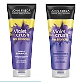 John Frieda Violet Crush For Blondes Shampoo & Conditioner