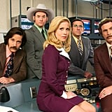 Paul Rudd posed with the cast of 2004's Anchorman: The Legend of Ron Burgundy.