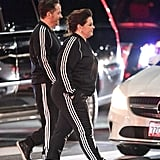 Melissa McCarthy Adidas Tracksuit at Oscars Afterparty 2019