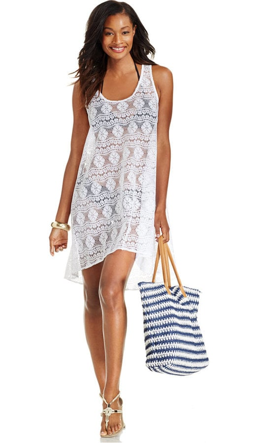 774ba2b921 Gottex Profile by Crochet High-Low Cover Up | Affordable Beach Cover ...