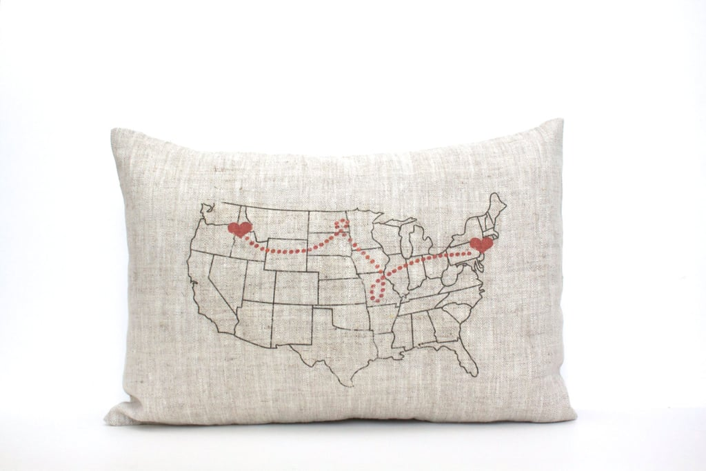 Custom 'Home For the Holidays' Pillow