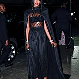 Naomi Campbell at Marc Jacobs's Wedding