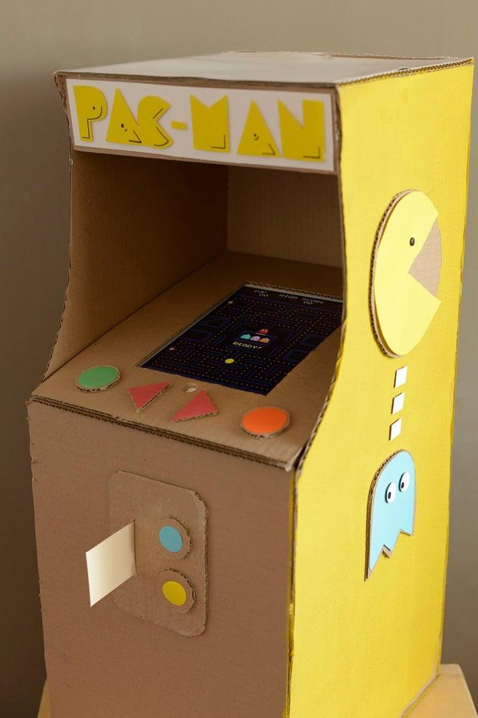 Fun Card Board Box Craft Ideas Games
