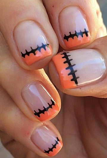 Easy DIY Halloween Nails