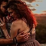 Romantic Forest Engagement Shoot