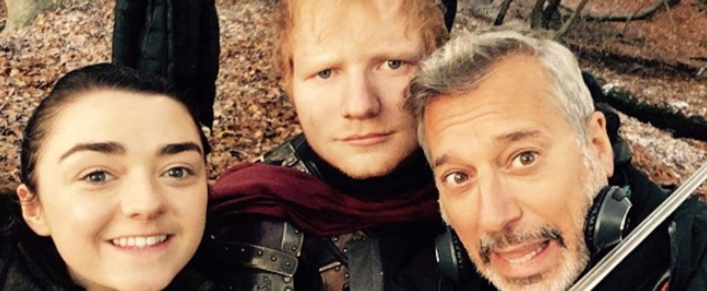 Ed Sheeran's Game of Thrones Instagram Pictures