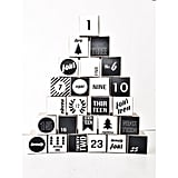 Buy: Milch & Honig's Nostalgic  Modern Black and White Advent Calendar
