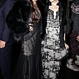 Vanessa Hudgens and Stacey Bendet at Alice + Olivia and the Cinema Society's screening of Gimme Shelter.