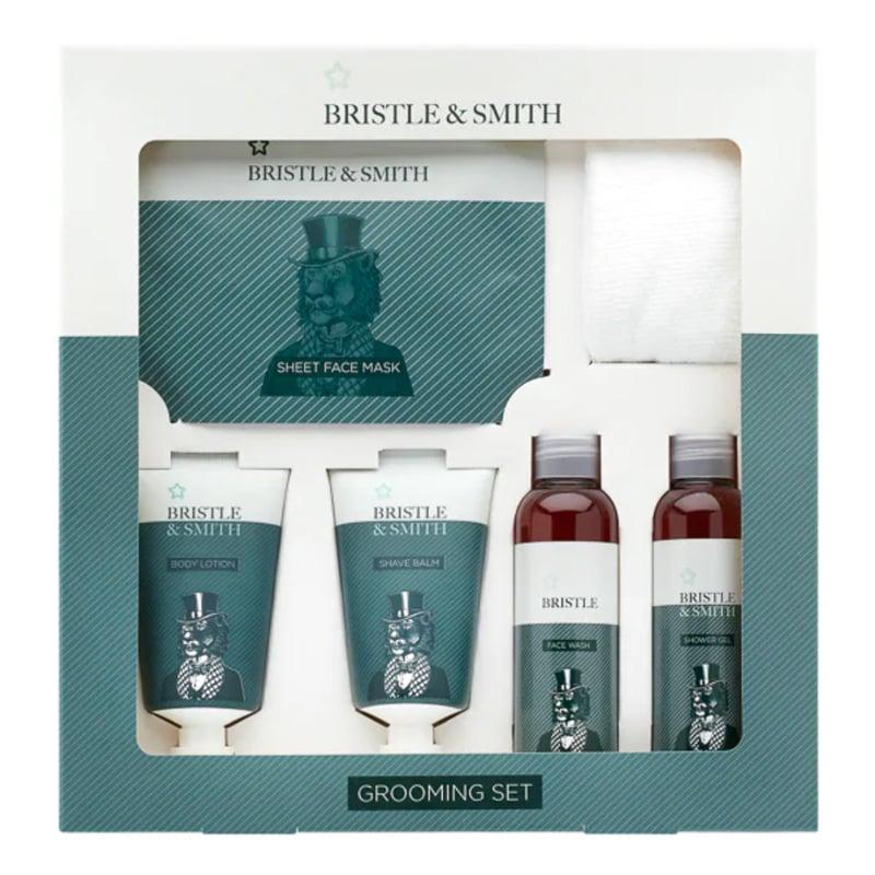 Superdrug Bristle & Smith Mens Grooming Kit