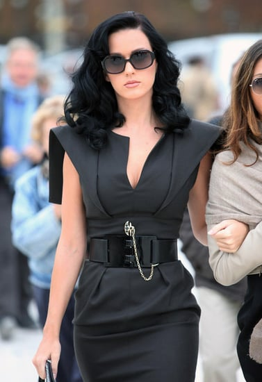 Katy Perry arrives at Ungaro Fashion Show in Paris