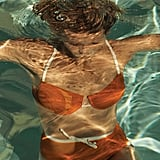 Gwyneth Paltrow Orange Bikini WSJ. Magazine